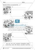 Bildergeschichte: Der Bananendieb - Wortschatz + Schreibkompetenz Preview 4