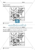 Bildergeschichte: Der Bananendieb - Wortschatz + Schreibkompetenz Preview 8