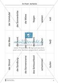 Wimmelbild: Am Strand - Informationen entnehmen + Schreibkompetenz Preview 6