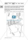 Kartenarbeit anhand der fiktiven Karte