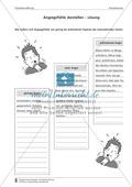 Die Äußerung von Angstgefühlen beschreiben: Kompetenzstufe C Preview 2