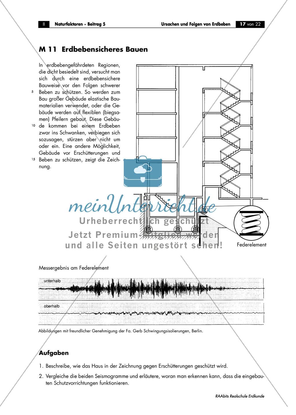 Erdbeben: Schutzmaßnahmen + Verhaltensregeln Preview 2