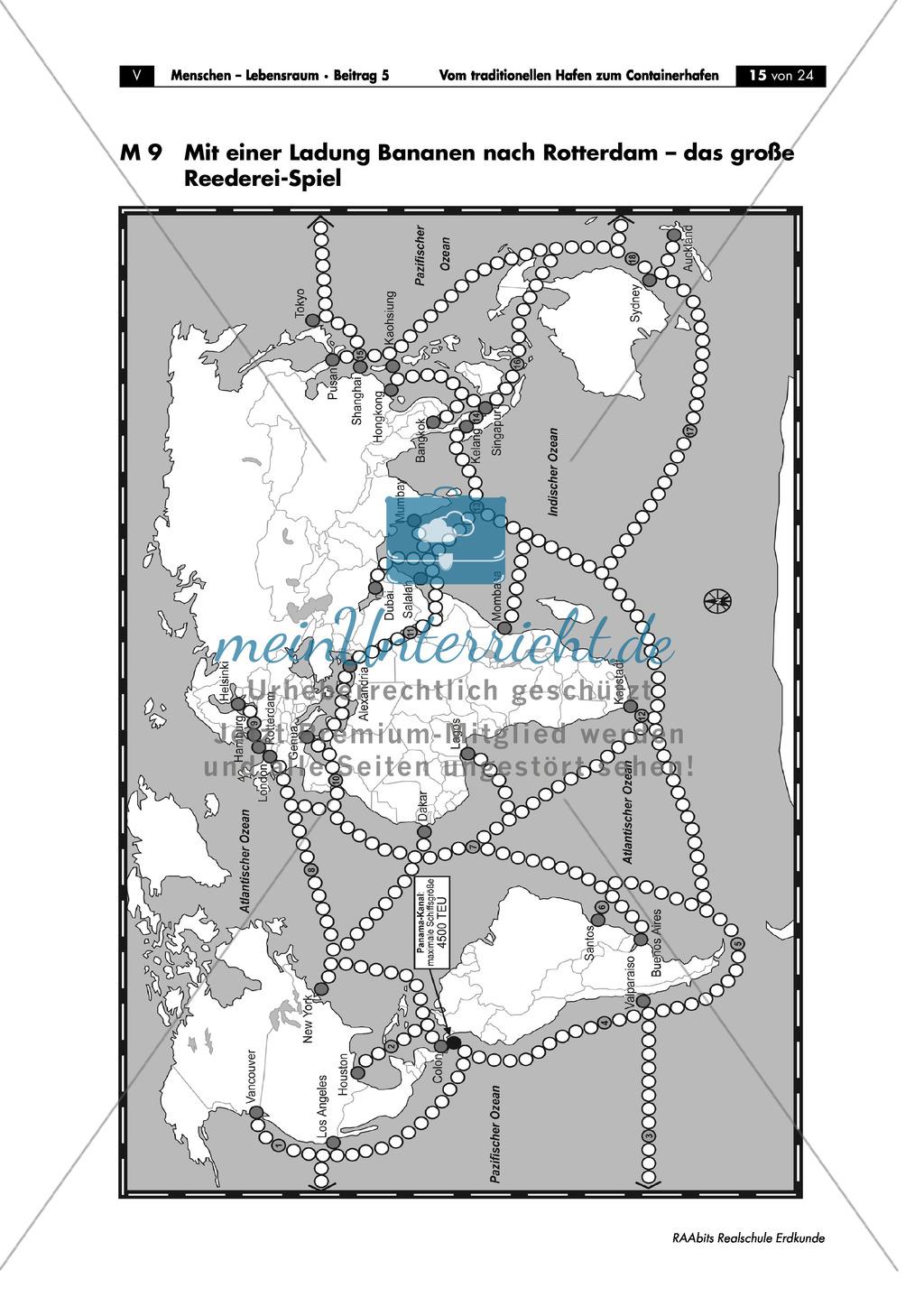 Der Hamburger Hafen: Reederei-Spiel Preview 0