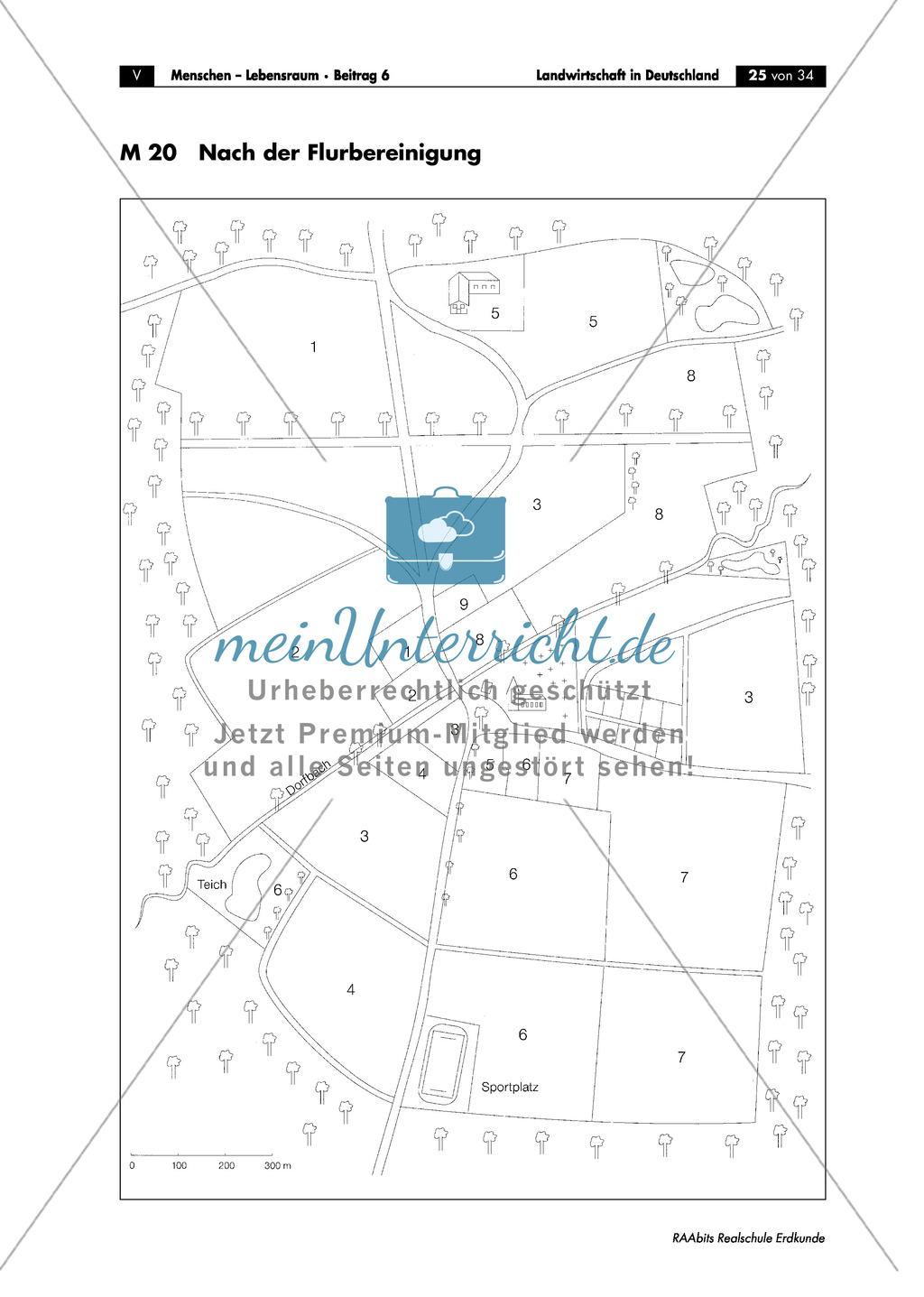 Landwirtschaft in Deutschland: Flurbereinigung Preview 4