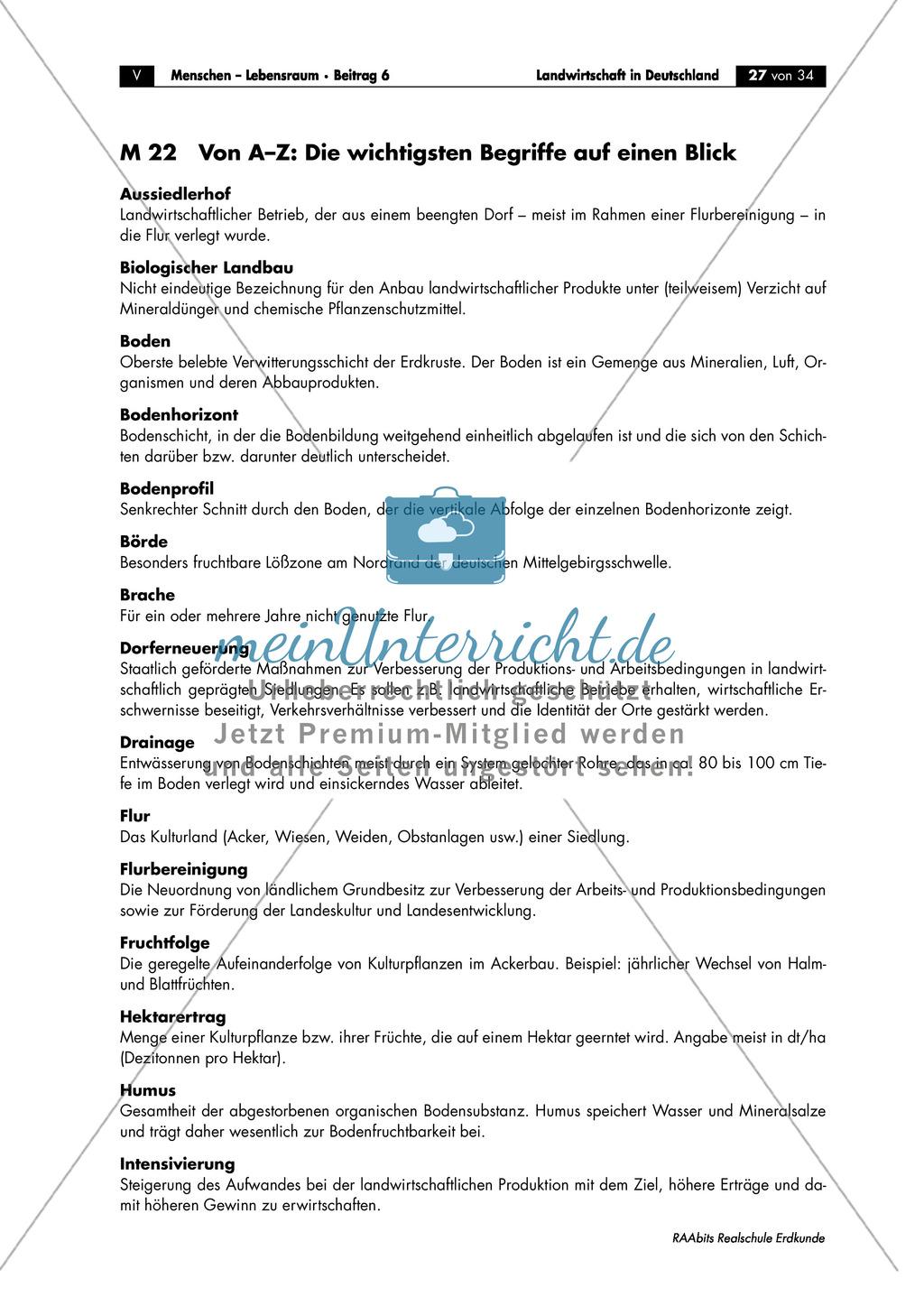 Landwirtschaft in Deutschland: Terminologie Preview 0