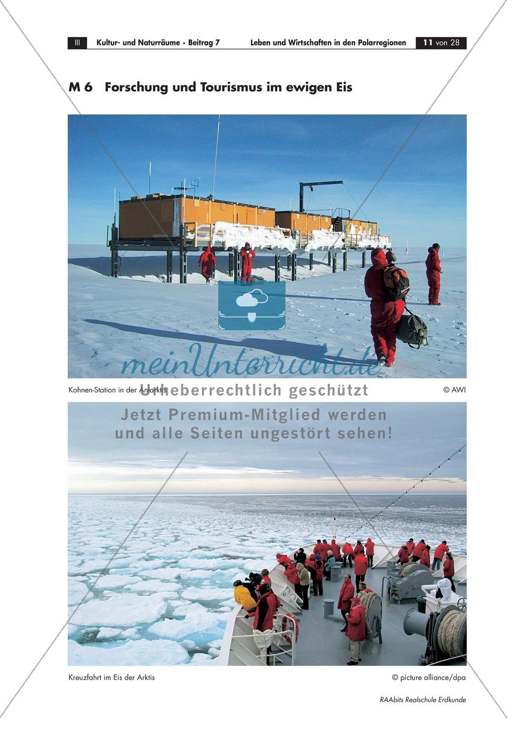 Leben + Wirtschaften in Polarregionen: Tourismus + Umwelt Preview 4