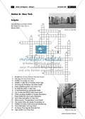 Erdkunde, Länderkunde, Siedlungsräume, Staaten, Länder, USA, Städte, Metropole, Stadtgeographie