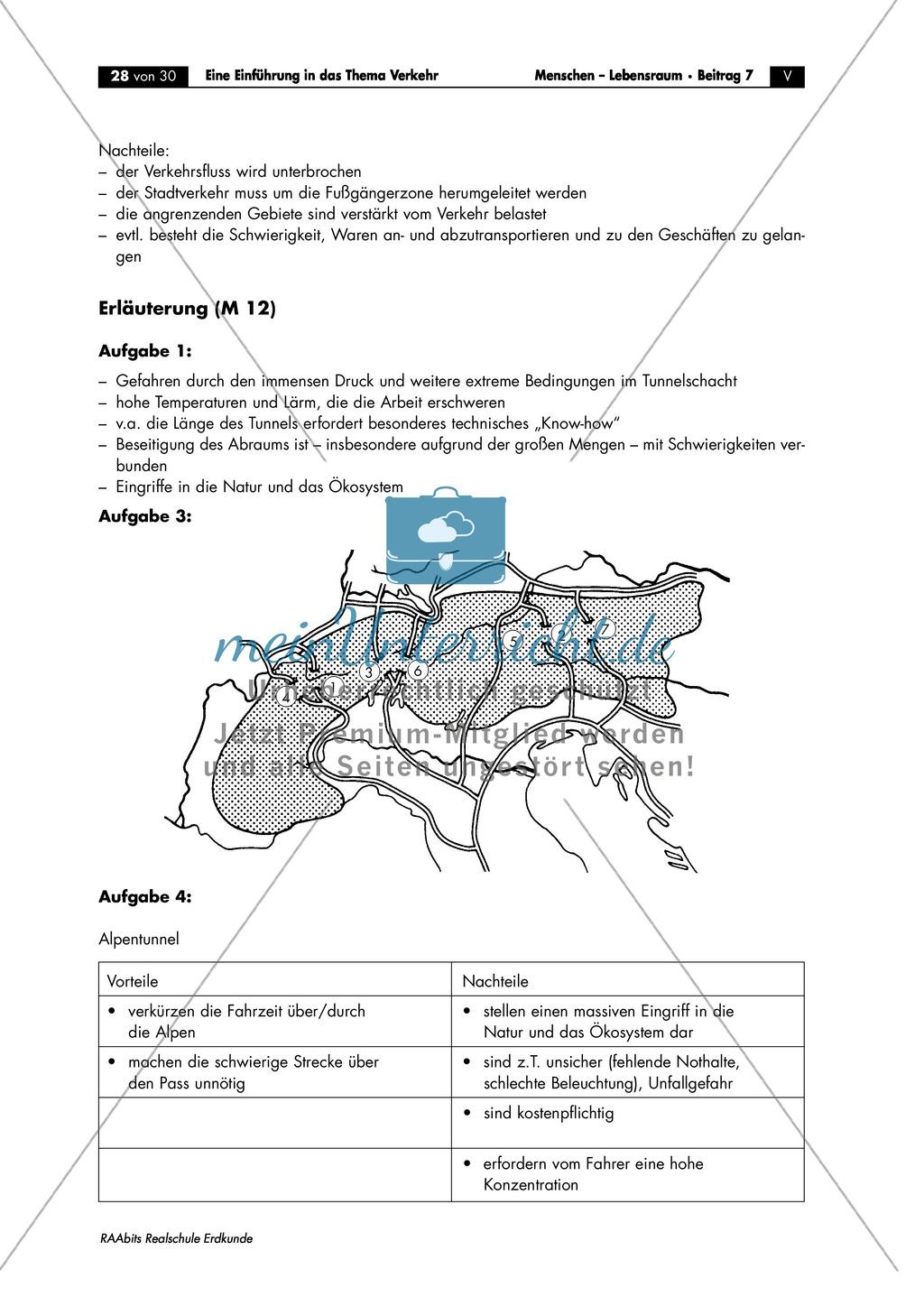 Einführung in das Thema Verkehr: Verkehrswege in Jena Preview 3