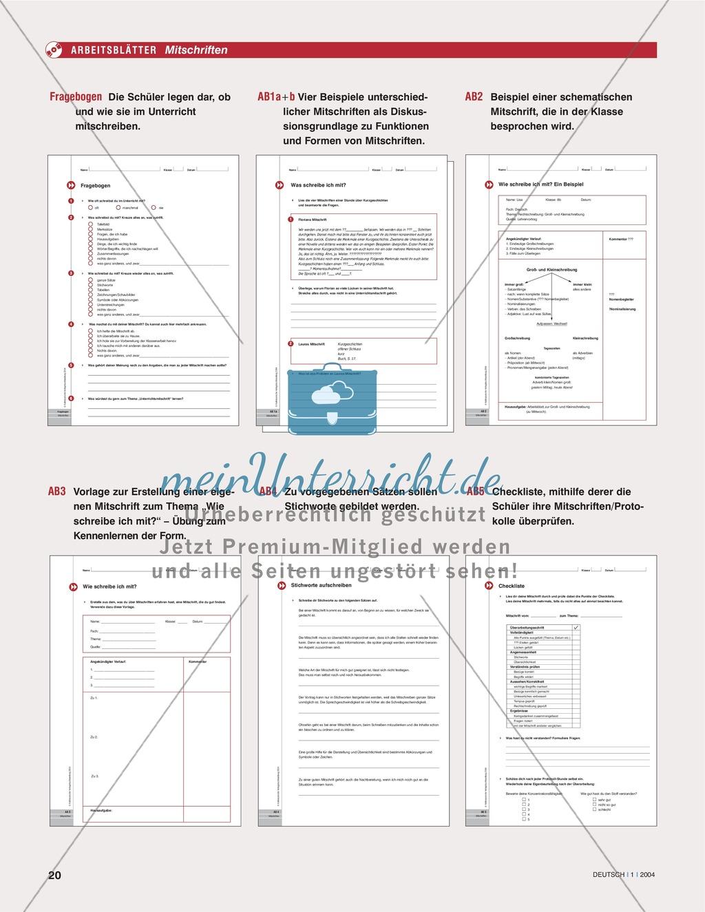 Fantastisch Schüler Informationsblatt Vorlage Zeitgenössisch - Entry ...