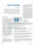 Hörkompetenzen vermitteln: Grundlagen der Hördidaktik Thumbnail 0