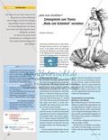 Deutsch, Literatur, Didaktik, Medien, Zeitungen, Umgang mit fiktionalen Texten, Aufbau von Kompetenzen, Umgang mit Medien, Produktion und Analyse journalistischer Texte, Analyse von Zeitungen, Analyse fiktionaler Texte, Inhalte strukturieren, Inhalte darstellen, Zeitungsartikel, Zeitung