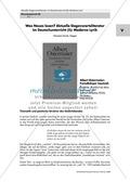 Deutsch_neu, Sekundarstufe II, Primarstufe, Sekundarstufe I, Literatur, Literarische Gattungen, Lyrik, Gegenwartsliteratur, Literatur
