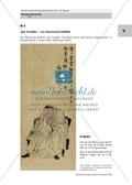 Brecht:Texte und Bilder aus dem Exil: Biografie Bertolt Brecht + Auflistung der Habseligkeiten + chinesisches Rollbild