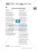Sommerlyrik: Lernerfolgskontrolle - Gedichtvergleich von