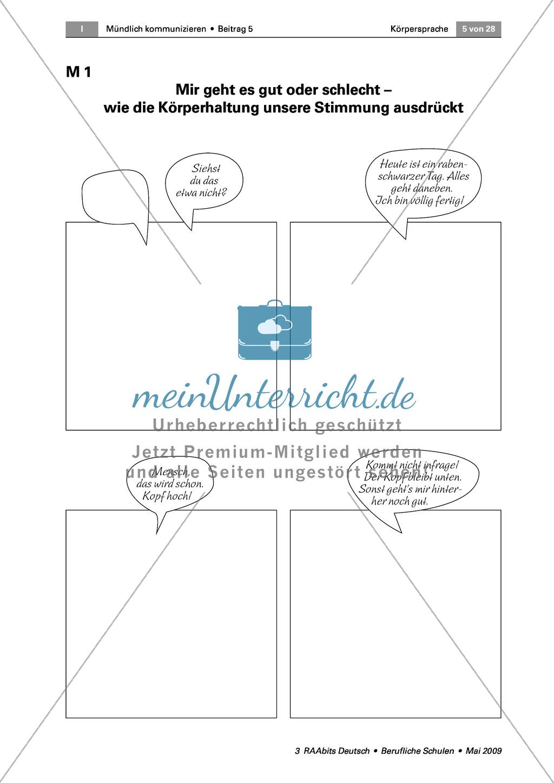 Körpersprache: Selbstbewusst auftreten können Preview 1
