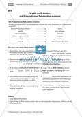 Satzgefüge und Konjunktionen: Konjunktionen und Präpositionen richtig einsetzen Preview 1