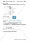 Satzgefüge und Konjunktionen: Lernerfolgskontrolle - Kreuzworträtsel, Klausurvorschlag Preview 2