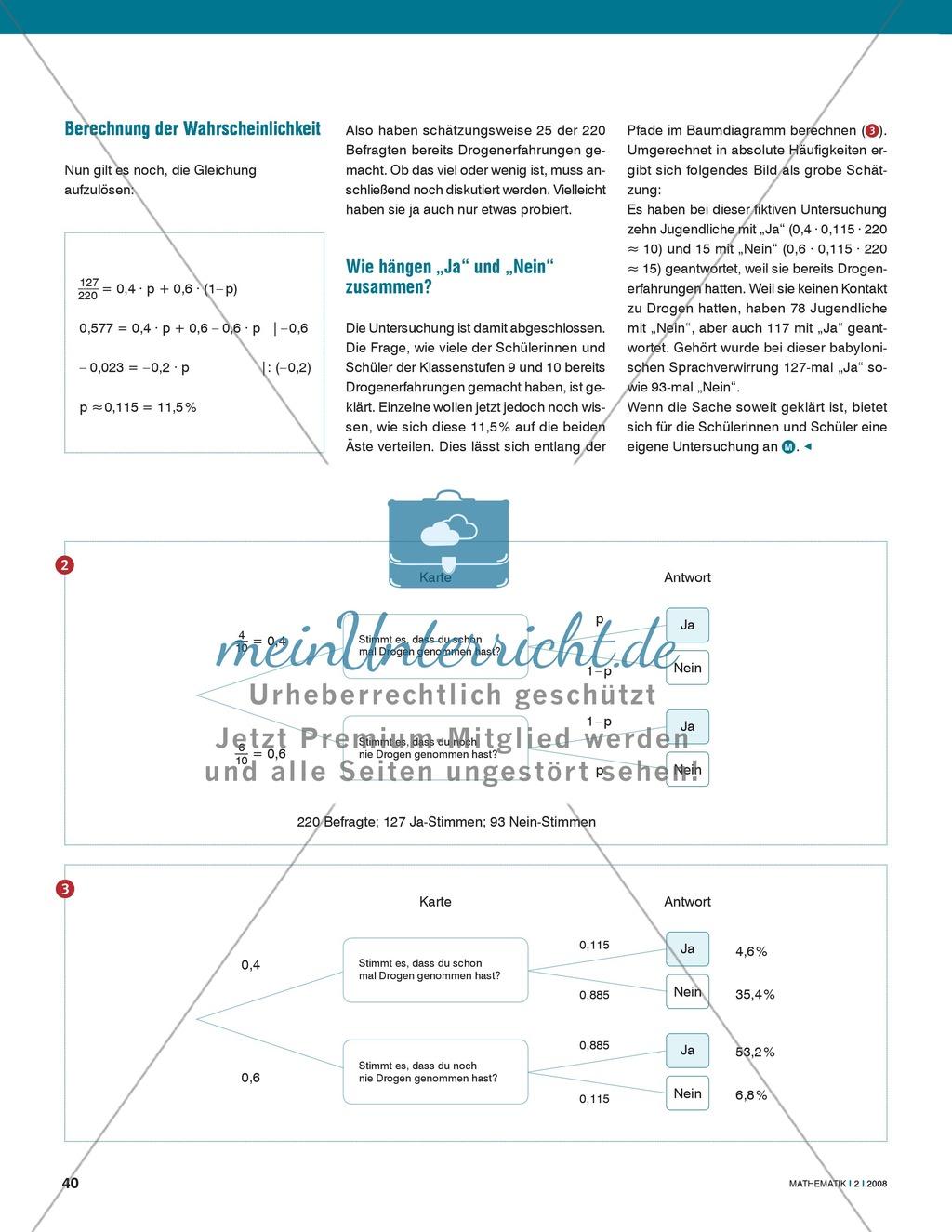 Befragungssituationen am Baumdiagramm darstellen am Beispiel der Dunkelfeldforschung Preview 3