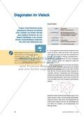 Mathematik, Geometrie, Zahlen & Operationen, Raum & Form, Algebra, zeichnen, geometrische Figuren, vielecke