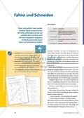 Mathematik, Geometrie, funktionaler Zusammenhang, Raum & Form, Achsensymmetrie, muster und strukturen