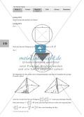 Die Kugel: Aufgaben zur Berechnung des Verhältnisses zwischen Kugel und Körpern mit viereckiger Grundfläche Preview 4