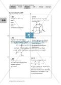 Mathematik, Raum & Form, analytische Geometrie, vektorielle Geometrie, Vektorraum, Vektorrechnung