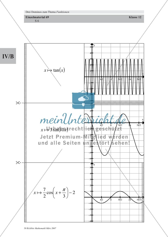 Mathematisches Lernspiel: Domino zu trigonometrischen Funktionen ...