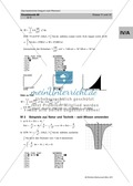 Das bestimmte Integral: Aufgaben zur Anwendung des Integralrechnung in der Physik, Natur und Technik Preview 5