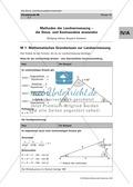 Mathematik, Geometrie, funktionaler Zusammenhang, Trigonometrie, Sinus, Kosinus, Kosinussatz, Sinussatz