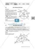 Mittelsenkrechten und Umkreis im Dreieck: Einführung, Defintion und Aufgaben Preview 8