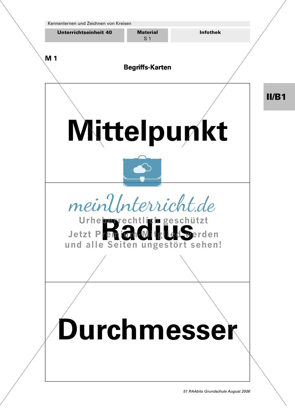 Geometrie: Radius, Durchmesser, Mittelpunkt - Grundlagen des Kreises ...