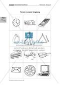 Geometrie: Geometrischen Grundformen erfühlen, legen, malen, erkennen und benennen Preview 7