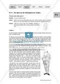 Unterrichtseinheit zum Einführen der irrationalen Zahlen und der Wurzeln. Mit Infomaterial, Aufgaben mit Lösungen und Erläuterungen und abschließendem Test/Lernerfolgskontrolle. Preview 12