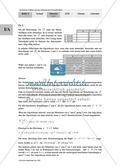 Unterrichtseinheit zum Einführen der irrationalen Zahlen und der Wurzeln. Mit Infomaterial, Aufgaben mit Lösungen und Erläuterungen und abschließendem Test/Lernerfolgskontrolle. Preview 17