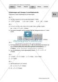 Unterrichtseinheit zum Einführen der irrationalen Zahlen und der Wurzeln. Mit Infomaterial, Aufgaben mit Lösungen und Erläuterungen und abschließendem Test/Lernerfolgskontrolle. Preview 22