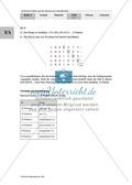 Unterrichtseinheit zum Einführen der irrationalen Zahlen und der Wurzeln. Mit Infomaterial, Aufgaben mit Lösungen und Erläuterungen und abschließendem Test/Lernerfolgskontrolle. Preview 23