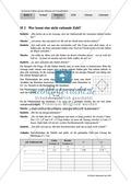 Unterrichtseinheit zum Einführen der irrationalen Zahlen und der Wurzeln. Mit Infomaterial, Aufgaben mit Lösungen und Erläuterungen und abschließendem Test/Lernerfolgskontrolle. Preview 2