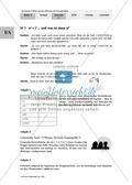 Unterrichtseinheit zum Einführen der irrationalen Zahlen und der Wurzeln. Mit Infomaterial, Aufgaben mit Lösungen und Erläuterungen und abschließendem Test/Lernerfolgskontrolle. Preview 3