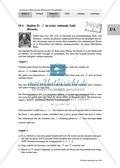 Unterrichtseinheit zum Einführen der irrationalen Zahlen und der Wurzeln. Mit Infomaterial, Aufgaben mit Lösungen und Erläuterungen und abschließendem Test/Lernerfolgskontrolle. Preview 6
