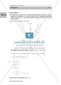 Analysis: Gruppenarbeit zum Thema Flächeninhalte bei Funktionenscharen. Mit Beispielen, Aufgaben und Lösungen. Preview 12