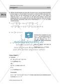 Analysis: Gruppenarbeit zum Thema Flächeninhalte bei Funktionenscharen. Mit Beispielen, Aufgaben und Lösungen. Preview 14