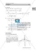 Analysis: Gruppenarbeit zum Thema Flächeninhalte bei Funktionenscharen. Mit Beispielen, Aufgaben und Lösungen. Preview 15