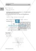 Analysis: Gruppenarbeit zum Thema Flächeninhalte bei Funktionenscharen. Mit Beispielen, Aufgaben und Lösungen. Preview 16