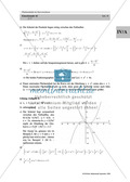 Analysis: Gruppenarbeit zum Thema Flächeninhalte bei Funktionenscharen. Mit Beispielen, Aufgaben und Lösungen. Preview 17
