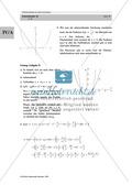 Analysis: Gruppenarbeit zum Thema Flächeninhalte bei Funktionenscharen. Mit Beispielen, Aufgaben und Lösungen. Preview 18
