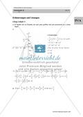 Analysis: Gruppenarbeit zum Thema Flächeninhalte bei Funktionenscharen. Mit Beispielen, Aufgaben und Lösungen. Preview 9