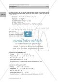 Analysis: Gruppenarbeit um Rechteck mit größter Fläche auf dem Schulhof zu finden (quadratische Funktion). Mit 3 Aufgaben und Lösungen und Erläuterungen. Preview 5