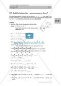 Analysis: Einführung von Zahlenreihen, Gaußsche Summenformel und Aufgaben mit Lösungen. Preview 1