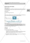 Lineare Gleichungssysteme: Sachaufgaben zum Thema Taschengeld, Handyvertrag Thumbnail 4