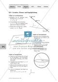 Mathematik, Raum & Form, funktionaler Zusammenhang, analytische Geometrie, Kugelgleichung, Ebenengleichung, Geradengleichung, präsentation
